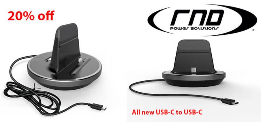RND Accessories USB-C to USB-C charging dock!