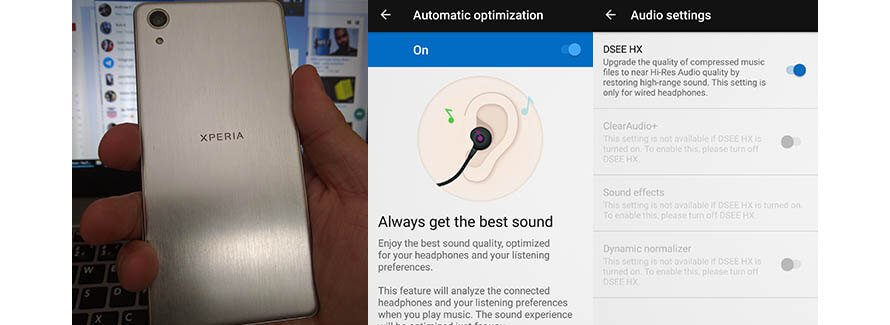 Xperia X Performance audio capability is off the chart!