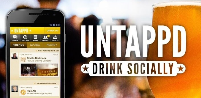 Have you been Untappd yet? Drink beer? Social about it?