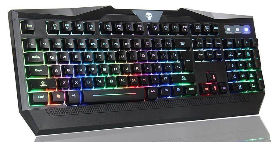 Bluefinger RGB Illuminated keyboard