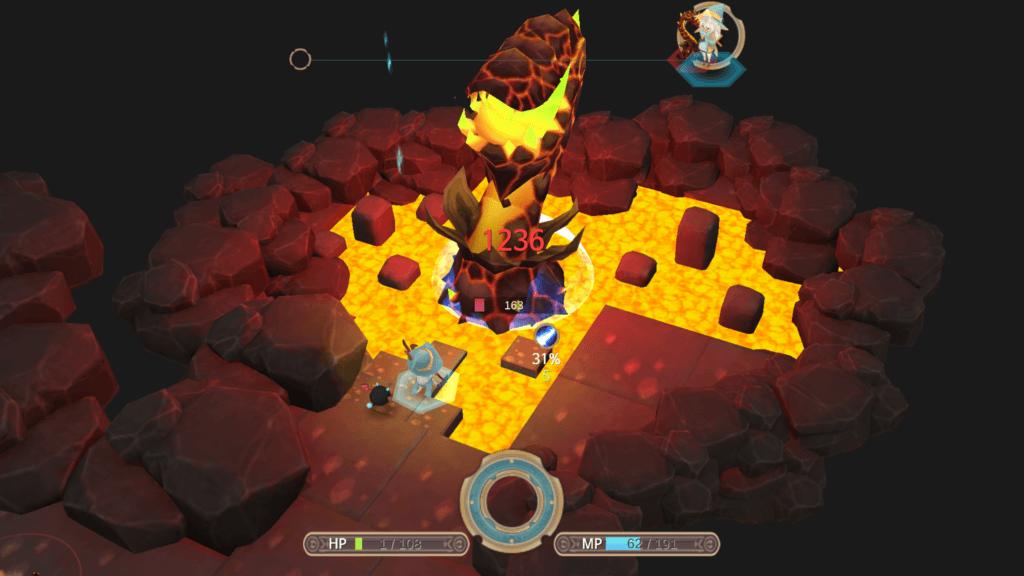 WitchSpring 2 Battle