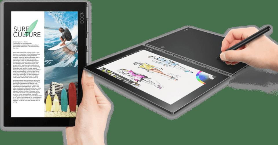 Lenovo Yoga Book - Header Cryovex Android