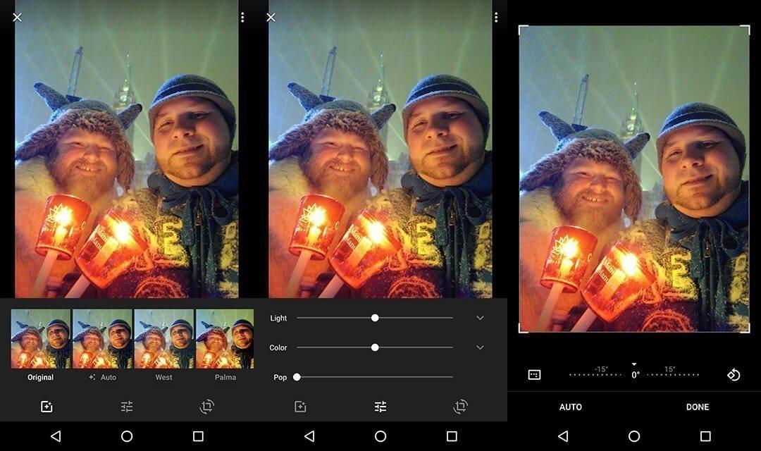 Google Photo Editing cryovex