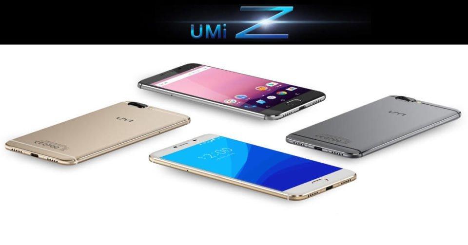 UMi Z featuring the X27 Mediatek
