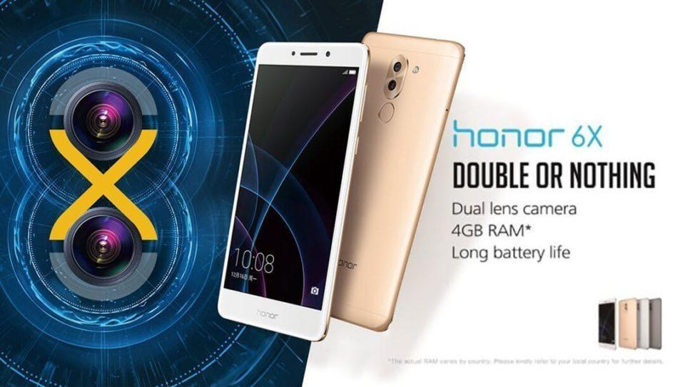 Huawei Honor 6X Cryovex