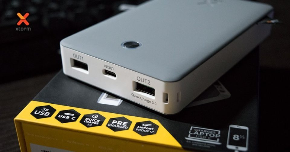 xtorm usb-c power bank discover 17000 header cryovex