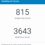 Geekbench Sony Xperia XA1