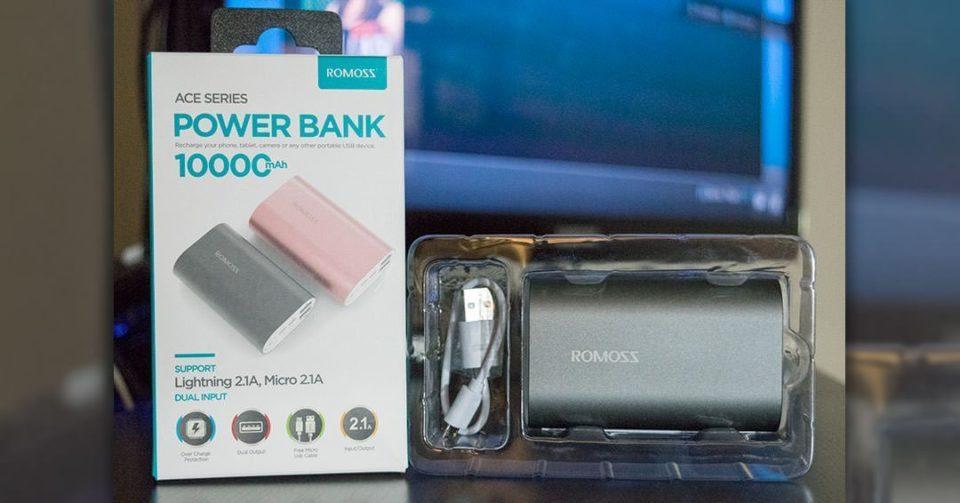 ROMOSS Ace 10 Power Bank header