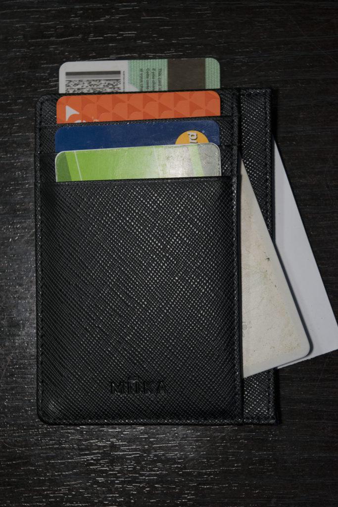 RFID Blocking wallet's are a dime a dozen however... Miika! 6