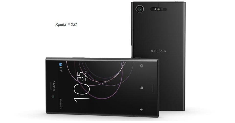 Sony Xperia XZ1 cryovex martin android byte header