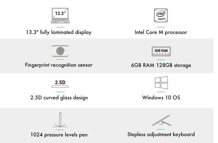 Chuwi CoreBook specifications