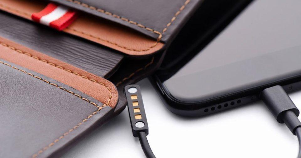 Volterman Wallet Cardholder Password USB C Micro Lightning Cryvoex news android martin ottawa canada