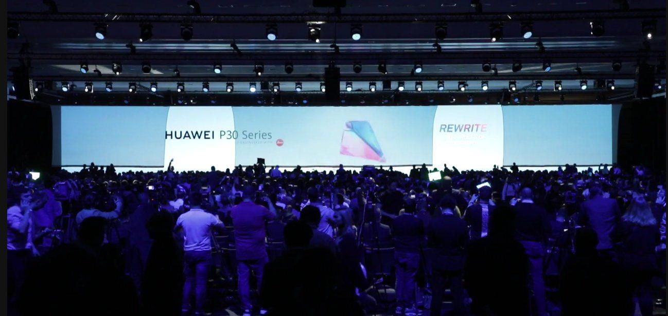 Huawei P30 Launch Event