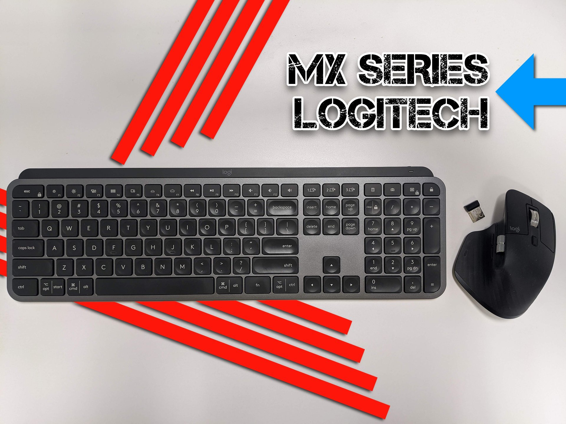 MX Master 3 review & MX Keys Review