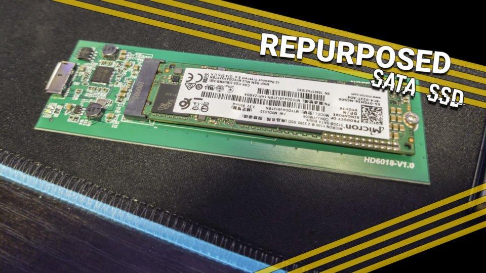 Repurpose your OLD M.2 SATA SSD