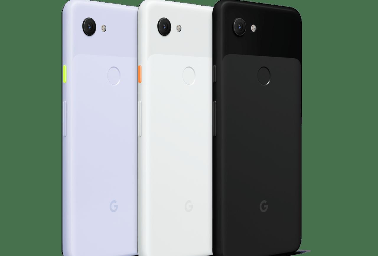 Google Pixel 3a and 3a XL MydeByGoogle