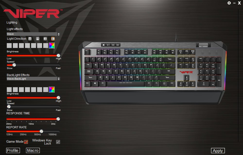 Dope Gaming Keyboard V765 Viper Gaming : Review