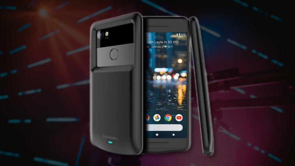 NEWDERY Pixel 2 XL Battery case 5200mAh Google Pixel 2XL