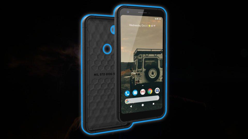 UAG Pixel 3a XL Scout case