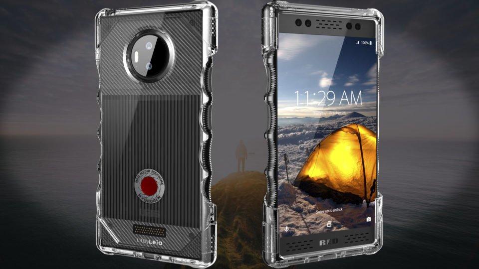 Red Hydrogen Phone Case Urban Armor Gear