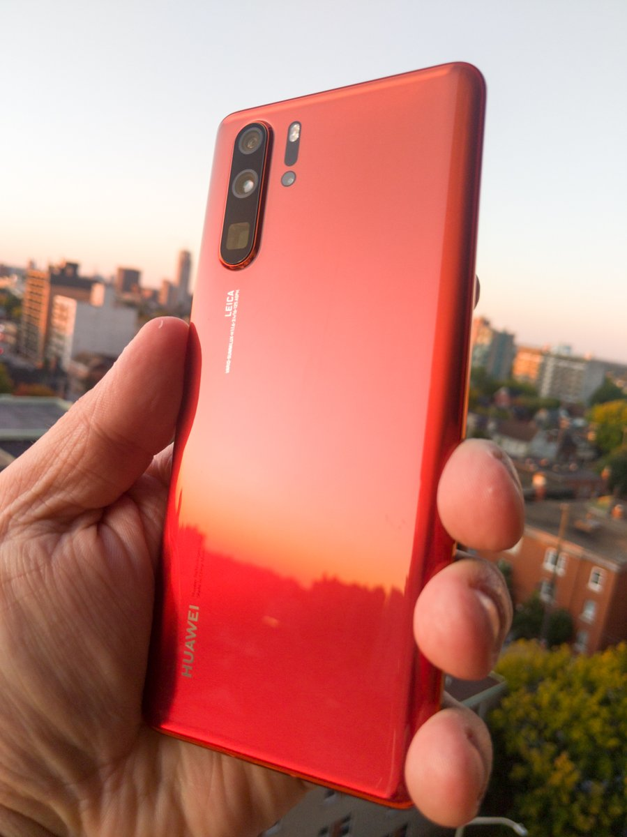 Revisiting Huawei P30 Pro - Amber Sunrise