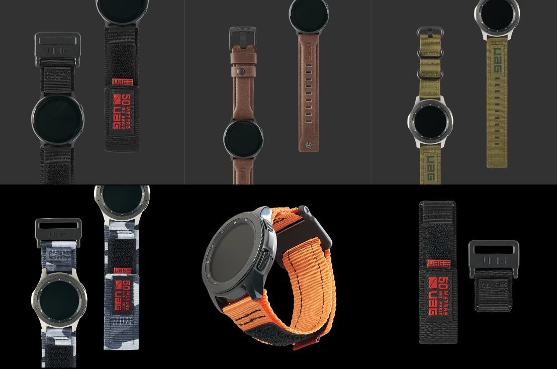 Secure Your Samsung Galaxy Watch With UAG's Rugged New Straps