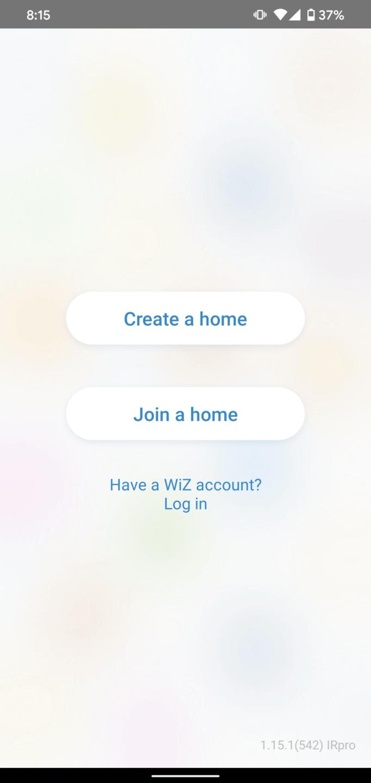 WiZ App cryovex screencapture 1
