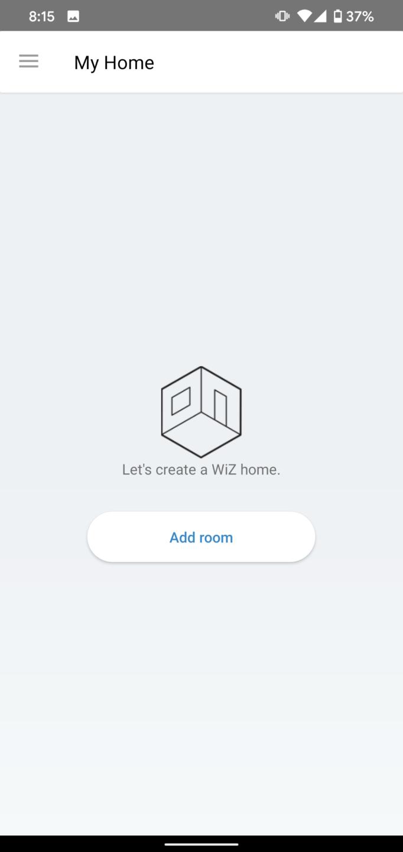 WiZ App cryovex screencapture 2