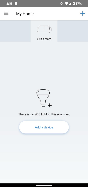 WiZ App cryovex screencapture 3