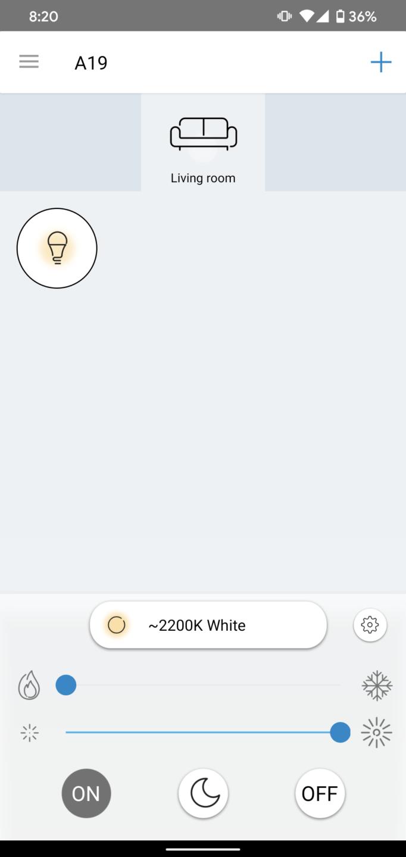 WiZ App cryovex screencapture 5
