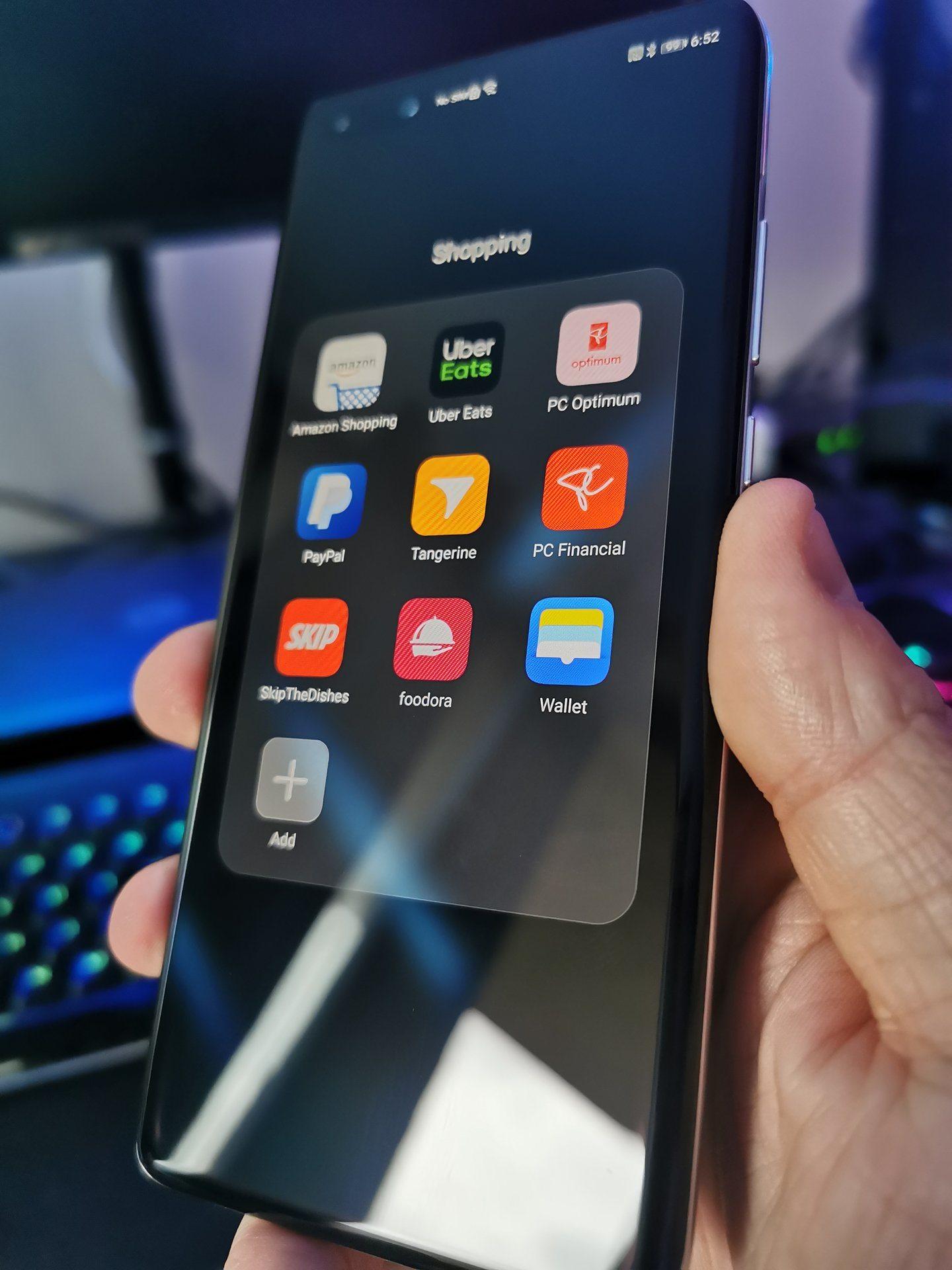 Huawei P40 Pro Apps 2