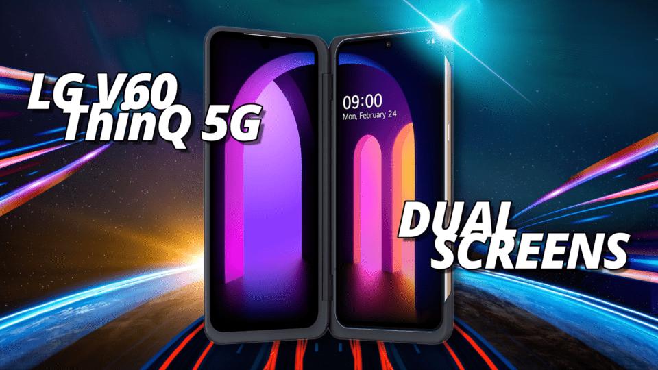 LG V60 ThinQ 5G Dual-Screen 5