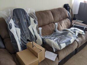 Gaming Chair HAWGUAR Amazon Canada 3