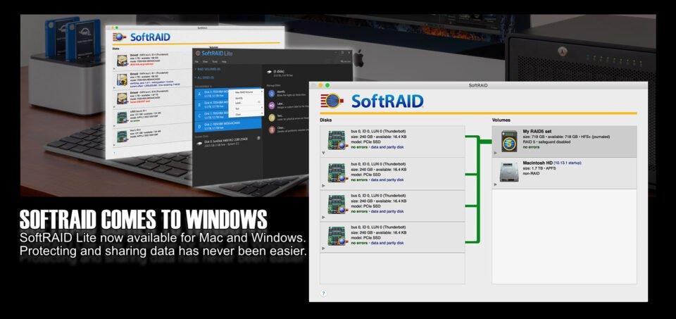 SoftRAID Lite & Lite XT for Windows