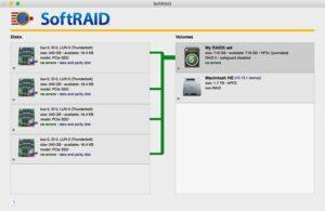 SoftRAID Interface