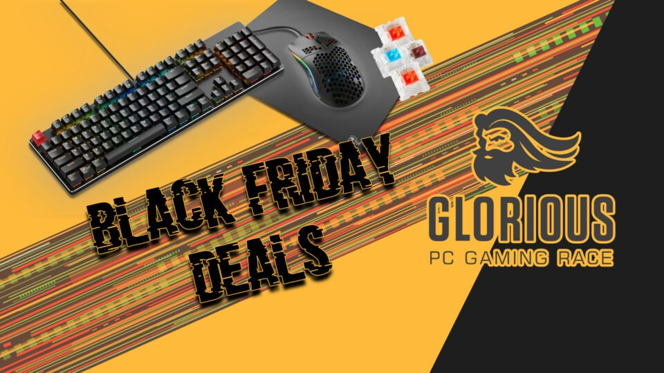 Black Friday Deals Glorious PC Gaming Race