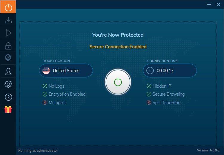 IVACY VPN - Windows 10