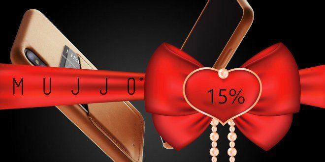 MUJJO Valentines Day discount header