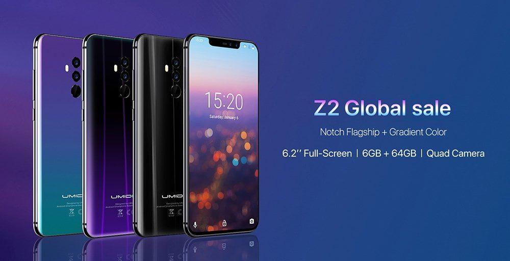 UMIDIGI Z2 Smartphone Global Bands 37 Android News Martin Ottawa 2