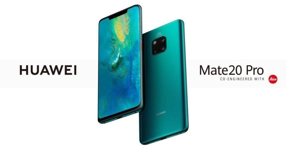 Huawei Mate 20 & Mate 20 Pro released Canada 1
